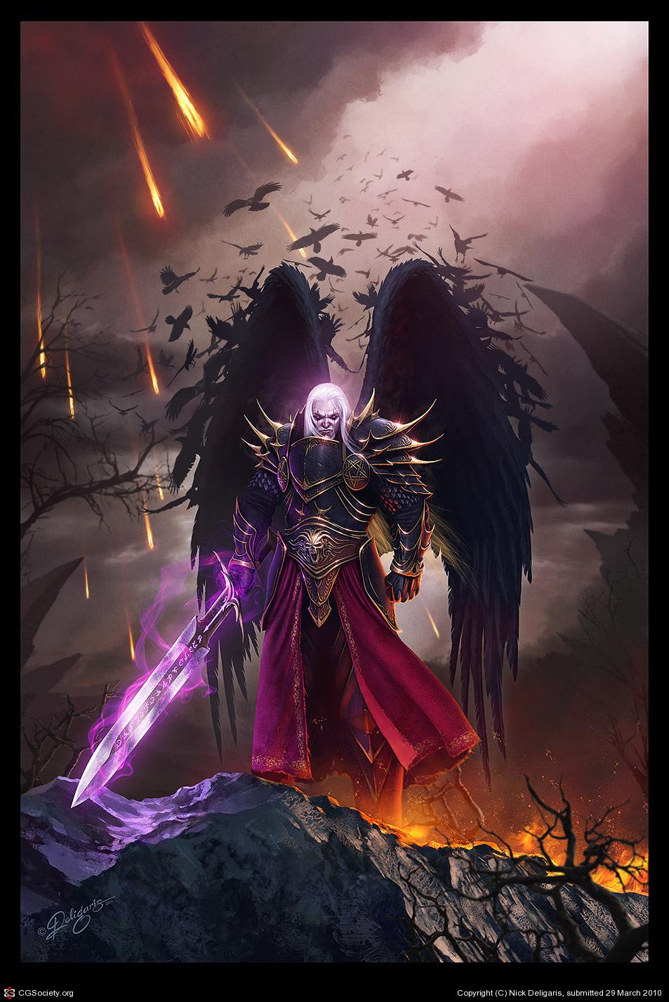 Faction Wars! Solonavi vs Dark Crusader! Dark-angel